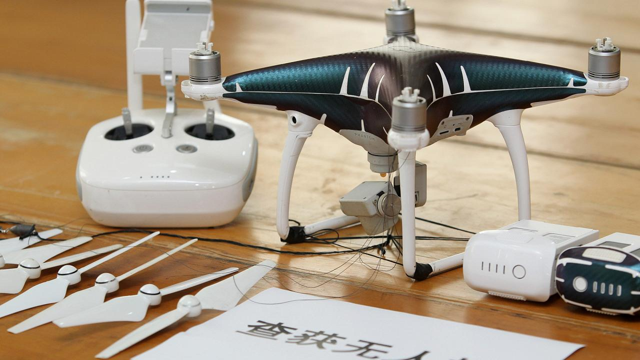 قاچاق آیفون توسط پهپاد! هنرِ جدیدِ قاچاقچیان چینی
